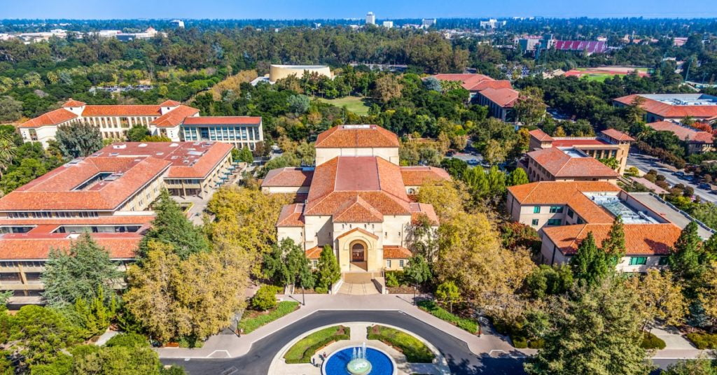 Top Universities in the World 2020 Stanford University - USA