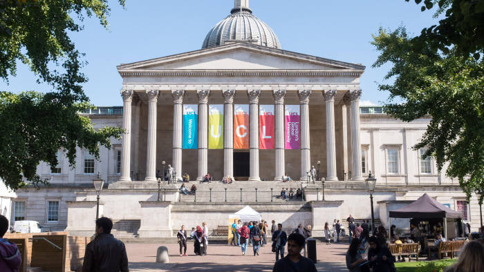 Top Universities in the World 2020 UCL (University College London)