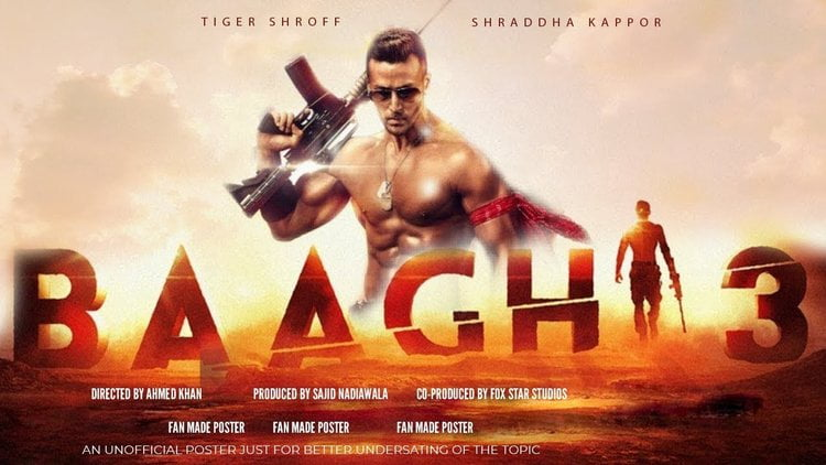 Baaghi 3 Full Movie leaked download link drive